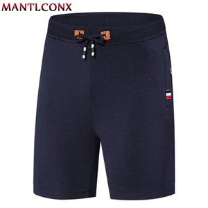 MANTLCONX 7XL 8XL Крупногабаритные Свободные шорты мужчин Летние короткие штаны с молнией Карман мужские пляжные шорты хлопок Повседневная