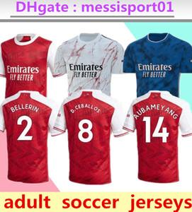 2020/21 Gunners maison ARSENAL jersey de football 2020 2021 Arsen PEPE NICOLAS CEBALLOS HENRY Guendouzi SOKRATIS chemise MAITLAND-NILES TIERNEY Football