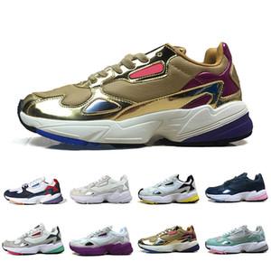 Falcon W de alta calidad para correr para hombres, mujeres, de alta calidad, negro, blanco, diseñador deportivo casual zapatillas de deporte originales para correr al aire libre 36-45
