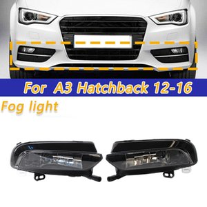 DHBH-Front Bumper Lower Fog Light Lamp Halogen For- A3 2020-2020 Sedan(Pair)8V0941699B, 8V0941700B