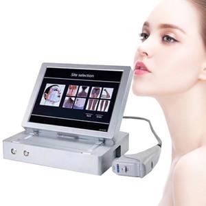 Yeni 20000 çekim 3D HIFU yüz germe ve vücut zayıflama için 4 mhz hifu yüz bakım makinesi fabrika fiyat