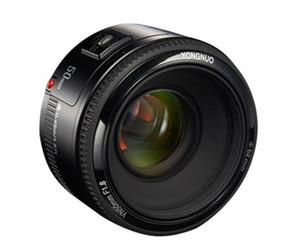 YONGNUO Lens YN50mm f1.8 YN CE 50 milímetros YN50 abertura da lente AF para Canon EOS 60D 70D 5D2 5D3 600d Camera livre