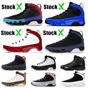 New Jumpman 9s Mens Basketball Shoes Stock x 9 Racer Blue Chameleon Gym Red Dream it, do it Black Orange Trainers Sports Sneakers