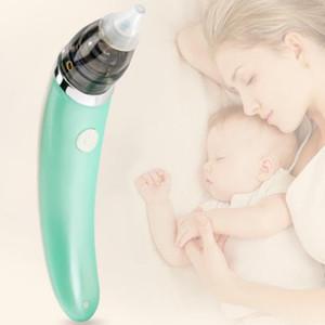 Baby-Nasal-Staubsaug Artifact Neugeborene Nase Maschine Infant Elektrische Absaugvorrichtung Reiniger Aspirator weiche Silikon-Sauger Reiniger Sniffling