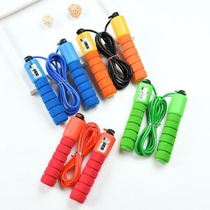 Fast Jump Ropes with Counter Sports Fitness Adjustable Fast Speed Counting Jump Skip Rope Skipping Wire