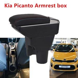 Kia Picanto Kolçak Kutusu Picanto3X-Line Universal Araç Merkez Kolçak Saklama Kutusu bardaklık küllük modifikasyon aksesuarları için
