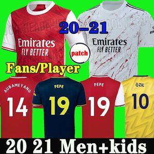 Thailandia Arsenal maglia da calcio 19 20 soccer jersey football shirt Aubameyang Lacazette 2019 2020 Camiseta Xhaka Ozil del corredo di calcio della camicia uniformi