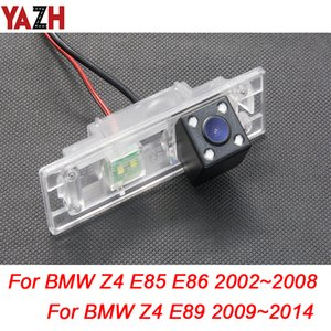 YAZH Für Z4 E85 E86 E89 2002 ~ 2014 Rückfahrkamera Parken Rückseiten-Kamera HD CCD-Unterstützungsparken LED Nachtsicht