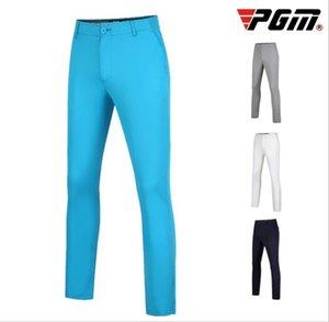 Calças pgm Men respirável de golfe de alta elástica cheio do comprimento de golfe Sports Calças Mens confortável D0774 Roupas Golf