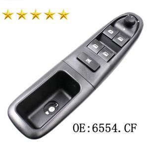 Vorne links Fensterheber Schalter Steuertaste 6554CF für Peugeot 406 1996-2004 6554.CF Auto Power Hauptfenster wechseln