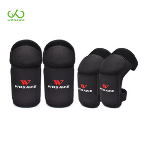 Wosawe Soft Protection Kid' Motorcy Knife Pads Motocross Off Road Safety Ballow Brace Support Ski Sports Protect Set