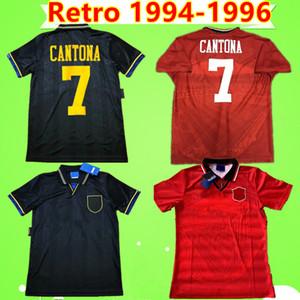 Manchester United retro jersey Cantona Hughes Giggs Ince RETRO MANCHESTER 1993 1994 CAMPIONE DI CALCIO REGALO 1995 UNITED 93 93 95 Maglia da calcio vintage classica MAN UTD