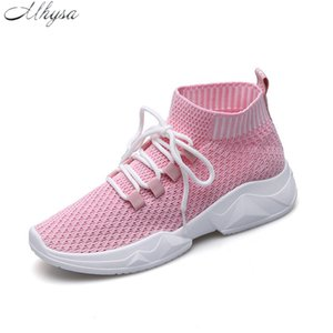 Mhysa Women's Ankle Boots shoes Fashion breathable spring summer Brand Sneakers Comfortable light casual Boots Woman shoes Z09