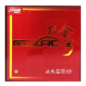 DHS GoldArc 8 (GA8, Сделано в Германии) Gold Arc Настольный теннис Rubber Пинг-понг Губка GoldArc-8 T191026