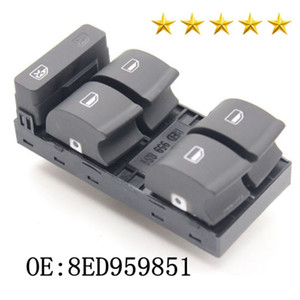High Quality New Master Power Window Switch Panel 8ED959851 Fit For A4 B6 B7 Sedan 2002-2008 8E0 959 851 B 8ED959851B Car Accessories Switch