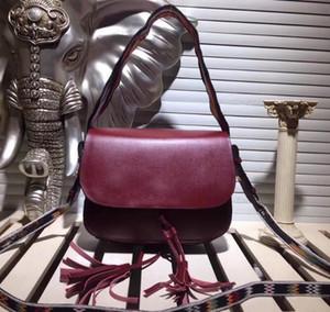 De luxe en cuir Broderie Sac bandoulière Tassel Sacs à main Sacs Flip Flap Sac à main chaîne Sac à bandoulière Sac à main Totes
