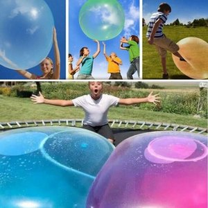 Bolha incrível bola engraçado Toy Água-cheia TPR Balloon For Kids Adulto Outdoor bolha Wubble bola Brinquedos infláveis MMA2030