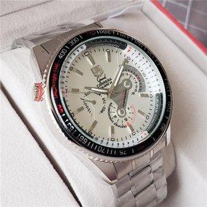 Marka Otomatik Mekanik Etiket İzle Kauçuk Kayış Erkek İş Casual Calibre 36 Moda Saatler Reloj Carrera saatı