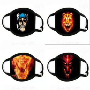 Men Reatale Sports Fa Mask Outdoor Icycle Dust Air Pollution Protective Alf Fa Neoprene Mask PM2.5 Party Printing Masks 7-1388#472