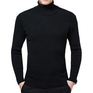 Laamei Winter High Neck Thick Warm Sweater Mens Turtleneck Brand Mens Sweaters Slim Men's Sweaters Men's Clothing Pullover Men Knitwear Mal