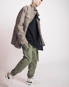 FOG Leisure Trousers Overalls Drawstring Pants Sweatpants Street Casual Loose Hip Hop Trousers Sport Fashion