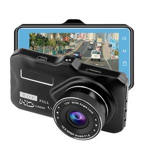 """1080p полный HD автомобильный видеорегистратор черный ящик вождения видеокамера полный HD автомобильный видеорегистратор """"Новатэк """" 3"""" 170° циклическая запись G-датчик движения обнаружения парковка монитор"""