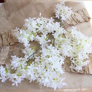 Heißer Verkauf Seide verschlüsselte Kirschblüten Künstliche Blume für Haus Hochzeit Dekoration Creepers Flower Vine Hochzeit