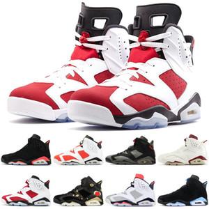 6S all'ingrosso scarpe da basket uomini riflettente argento Volo Nostalgia 6 VI Classic UNC bianco blu nero di sport scarpe da ginnastica formatori outdoor