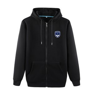 2020 Girondins De Bordeaux Football Team Soccer Sports Fashion Sweater Men's Football Outdoor Jogging Warm Clothing Casual Autumn Jacket