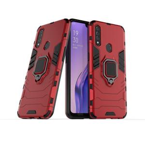 cas de téléphone anneau Armure hybride capa cas pour OPPO A8 Trouver X2 Realme 6 pro X50 Reno 3 ACE pro
