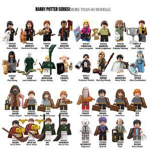Figur Harry Potter Rubeus Hermine Granger Lord Voldemort Dean Thomas Ron Weasley Dobby Draco Malfoy Building Block Spielzeug 60 + Modelle