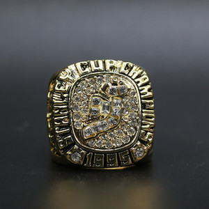 1995 New Jersey Devils Hockey Championship Ring Custom Big Size 11 Sports Ring Fashion Sport Jewelry