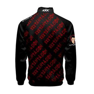 Stehkragen 19SS XXXTentacion Menshoodies-Teenager Baseball Letters Designer Sweatshirts Frühlings-Herbst-Kleidung Pullover