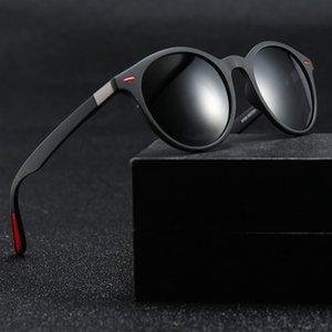 PC Cadres Nouveau mode Marque Desinger Suglasses Unti-uv 400 Round Lunettes de protection avec l'objectif d'origine Boîte P0049DF