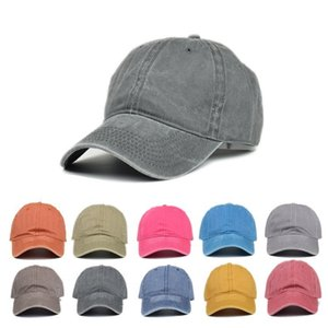 fashion Make old Vintage Baseball hat peaked cap Unisex Classic Plain outdoor sun hats travel fashion Ball CapsT2C5216