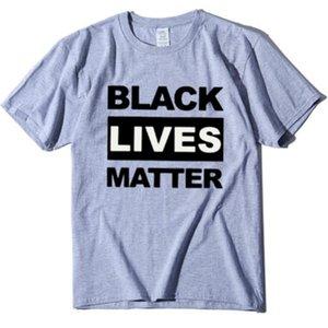 Moda Donna maglietta nera VIVE MATERIA street casual magliette vita è importante maglietta Maglie a manica corta 2020 vestiti di alta qualità