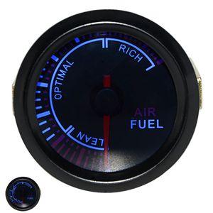 "2"" 52MM Universal Air Fuel Ratio Car Gauge Meter Auto Blue LED"