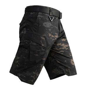 Outdoor Bekleidung Ausrüstung Dschungel-Jagd Waldschießhose Schlacht Kleid Uniform Kampf Hose Tactical Camouflage Shorts NO05-131