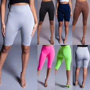 Cotone Donne Sexy Yoga Leggings Pant fitness a vita alta di sport jogging Palestra Shorts