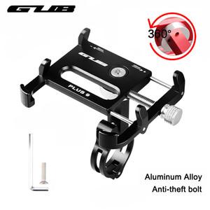 """GUB Universal bicicleta teléfono inteligente soporte para 3,5-6,2 """"aluminio MTB bicicleta motocicleta manillar montaje mango teléfono soporte"""