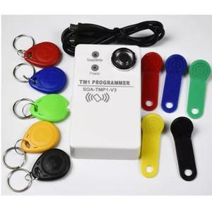 TM Leitor RFID Copiadora Duplicator handheld RW1990 TM1990 TM1990B ibutton DS-1990a I-Button 125KHz EM4305 T5577 EM4100