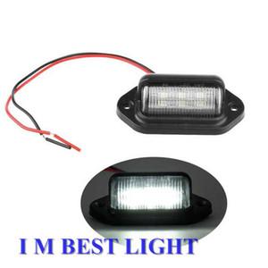 20pcs 10-30 brillante 6LEDs Trailer targa Light Truck luce targa per moto Autobus