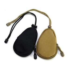 Outdoor Camping Travel EDC Tool Walkman Commuting Equipment Package Tactical Appendage Sub-bag Mini Key Wallet Handbag