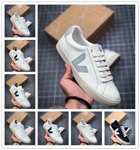 VEJA ESPLAR Sneakers Genuine Leather Villous Dermis Casual Shoes Mens&Women Luxury Superstar Trainer