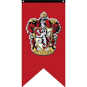 Bandera de Harry Potter Casa banderas decorativas 125x75cm la impresión del poliester del ventilador que cuelga la bandera venta caliente con Latón ojales envío