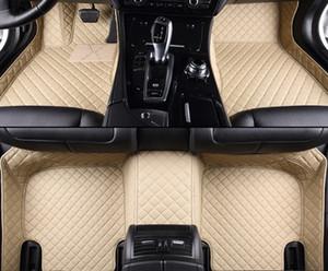 tappetini auto in pelle personalizzati per tutti i modelli Lincoln Navigator MKZ MKS MKC MKX MKT styling accessori per auto auto