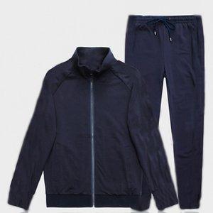 Mens Tracksuit Jackets and Pants Fashion Sport Sweatshirt Brand Designer Two Piece Suits Zipper Jacket and Long Pants M-3XL