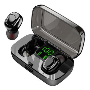 Touch Control Bluetooth Earphone Wireless Headphones Handsfree HIFI Stereo Wireless Earbuds Sport Headset With Microphone For Smart Phone