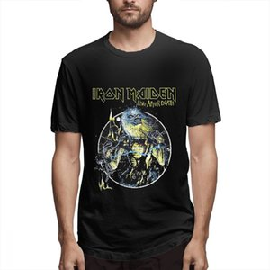 Iron Maiden T Shirt cute shirts Wildest Dreams Vortex Band Logo Official Mens New Black Shirts Graphic Shirt s5501
