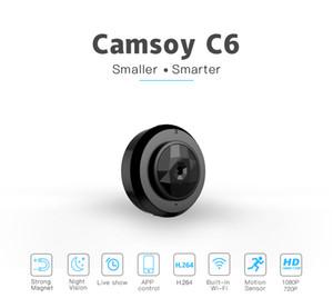 Mini cámara inteligente WIFI IP C6 HD 720P usable visión nocturna mini cámara boby Seguridad para el Hogar de detección de movimiento de vídeo videocámara